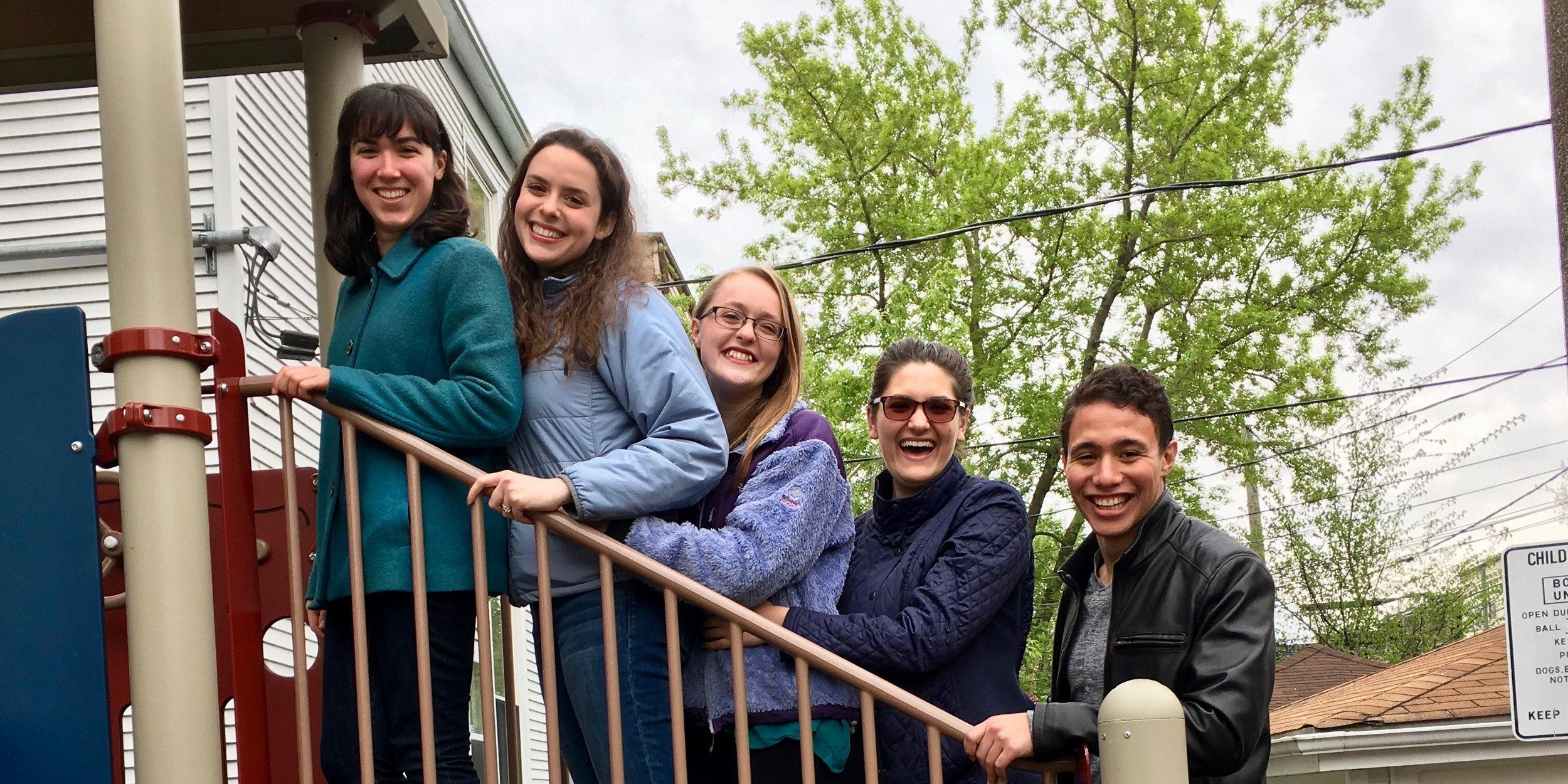 Group shot Spring 2017
