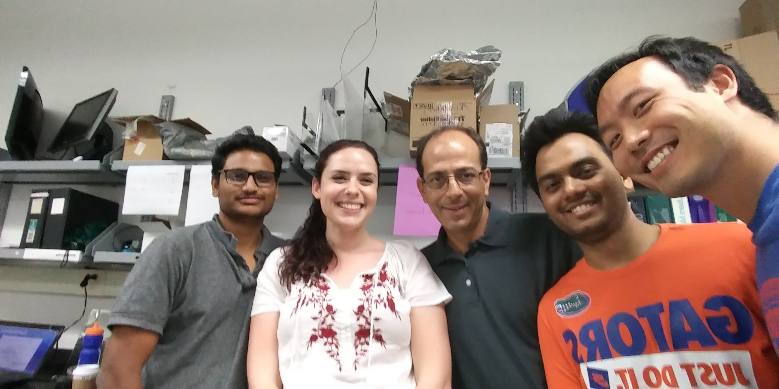 Rachael visited Prof. Jason Weaver's group at The University of Florida for two weeks in June 2017.