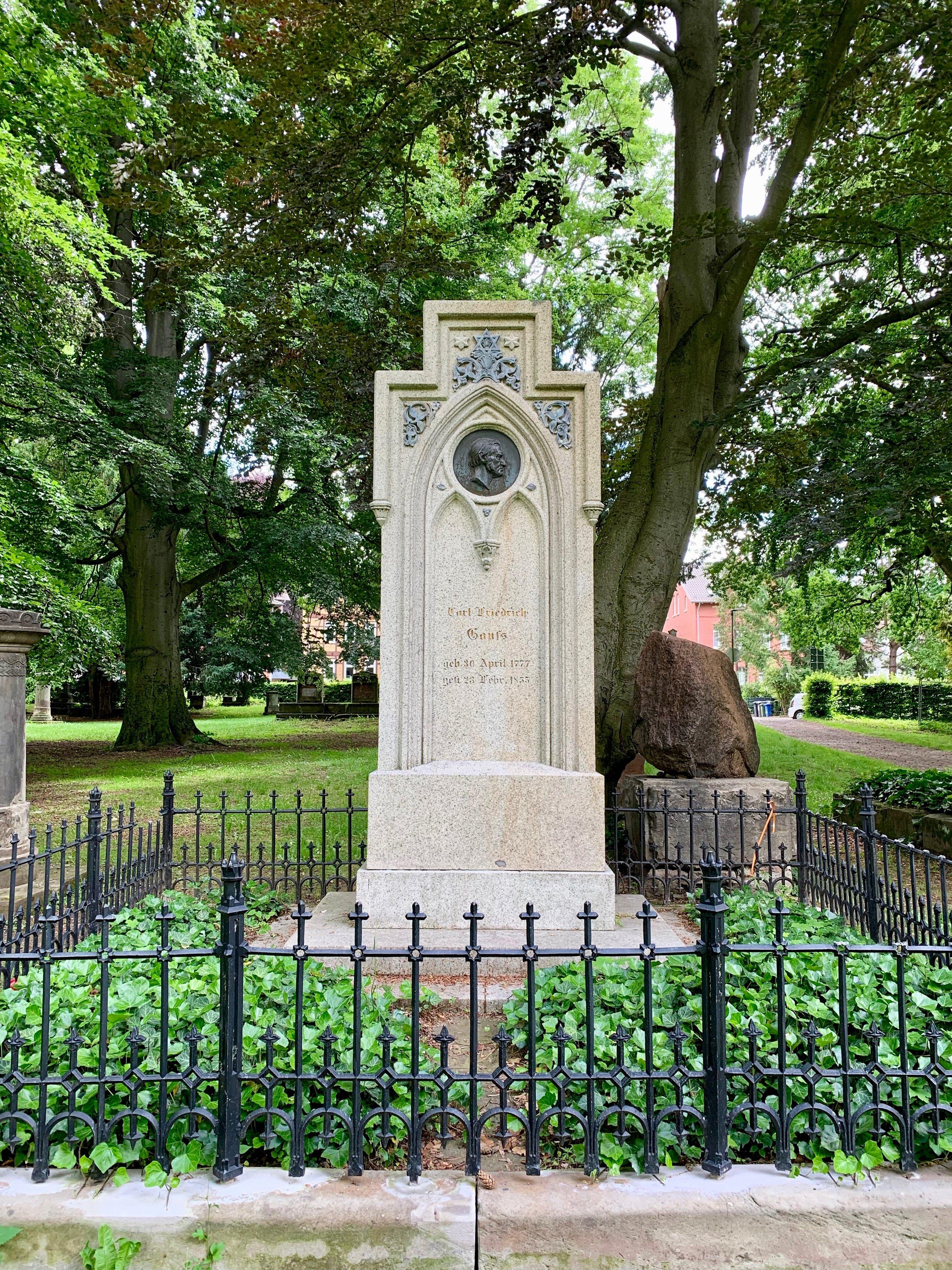 Gauss' grave