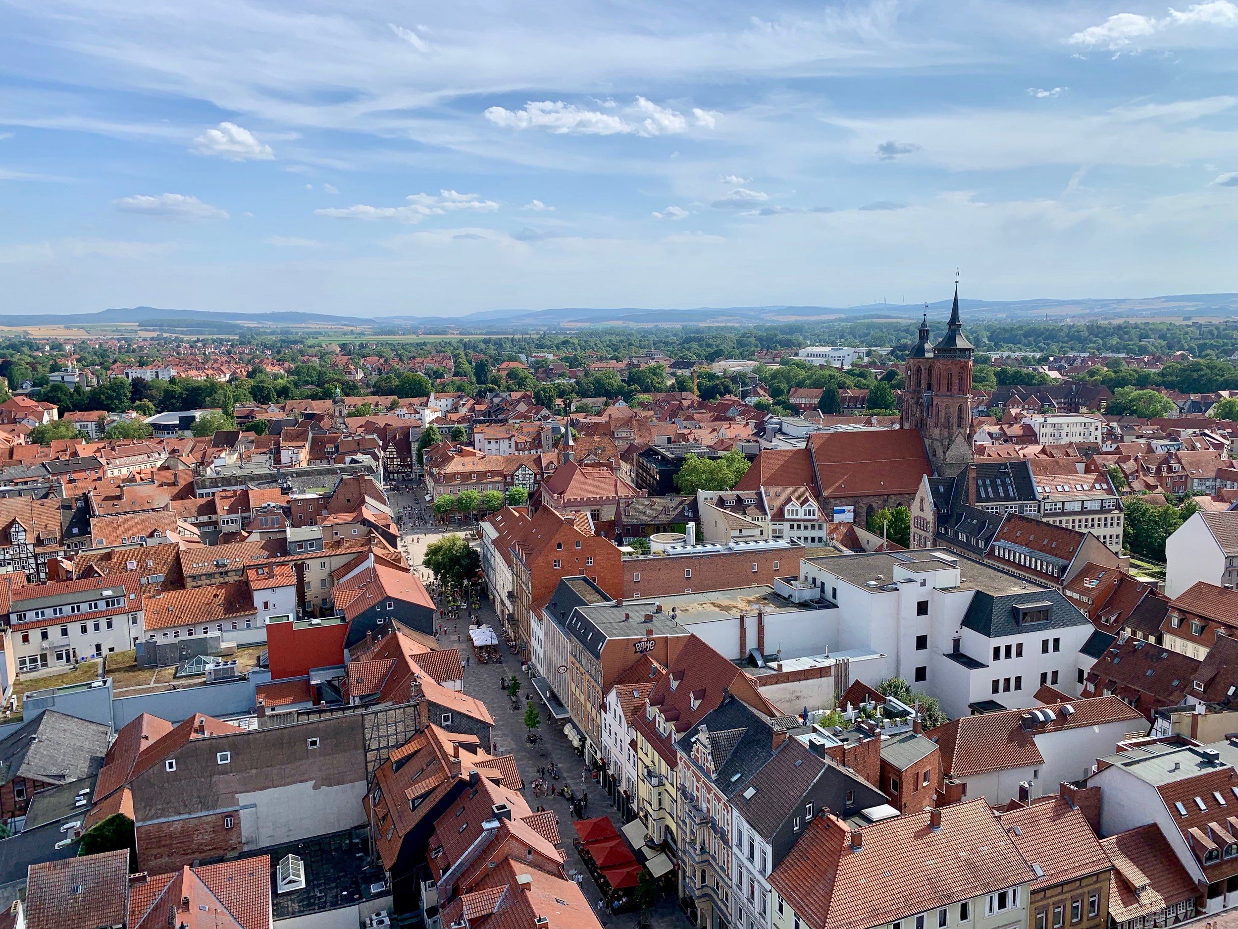 Göttingen from a tower