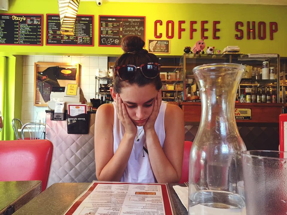 Overwhelmed at Dizzy's Diner (Park Slope, BK)