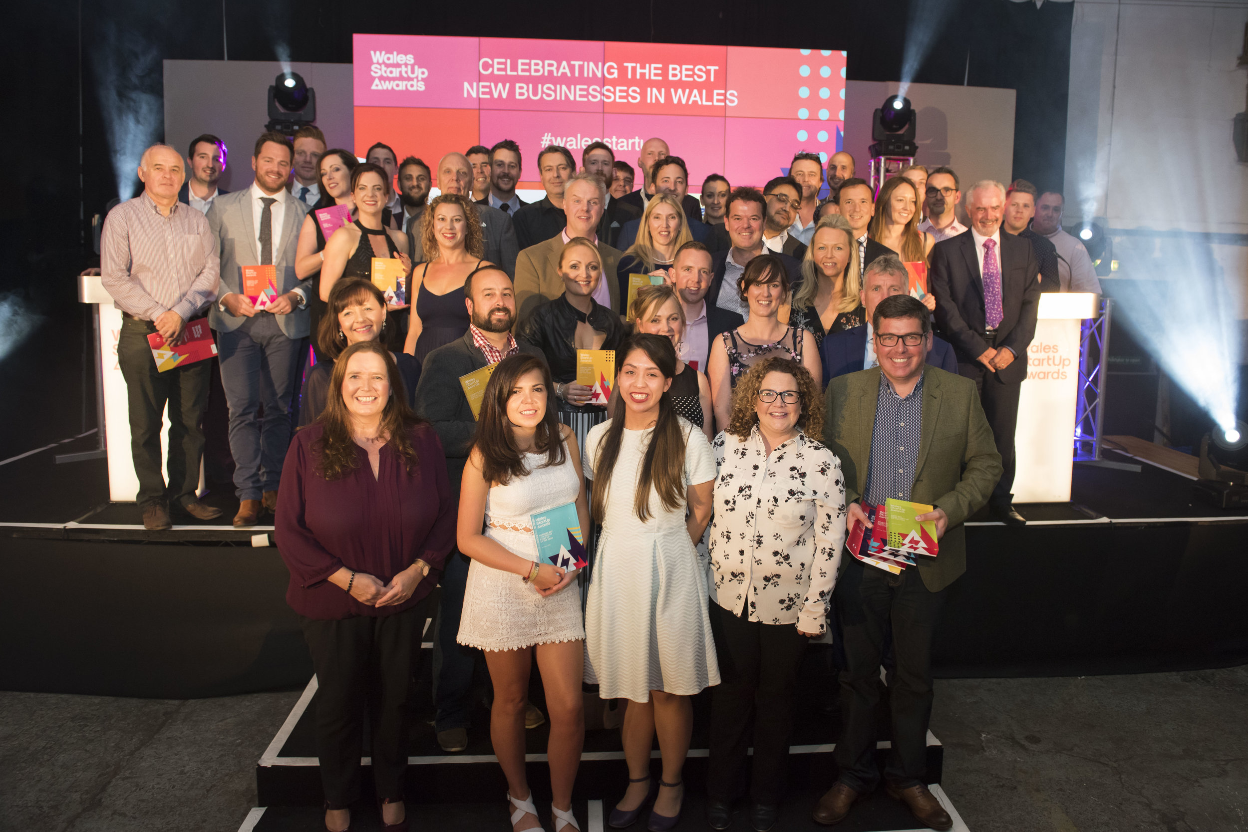 Winners of the 2016 Wales StartUp Awards