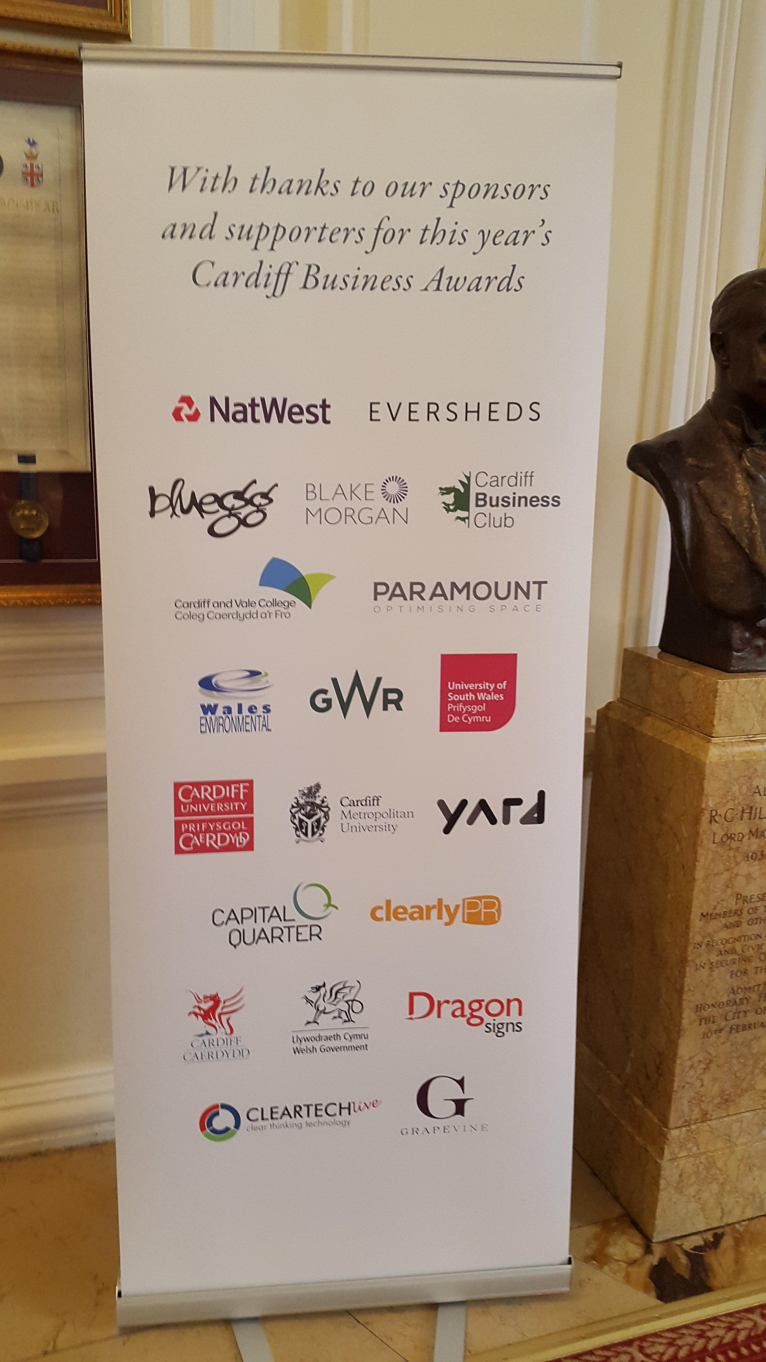 Cardiff Business Awards Sponsors