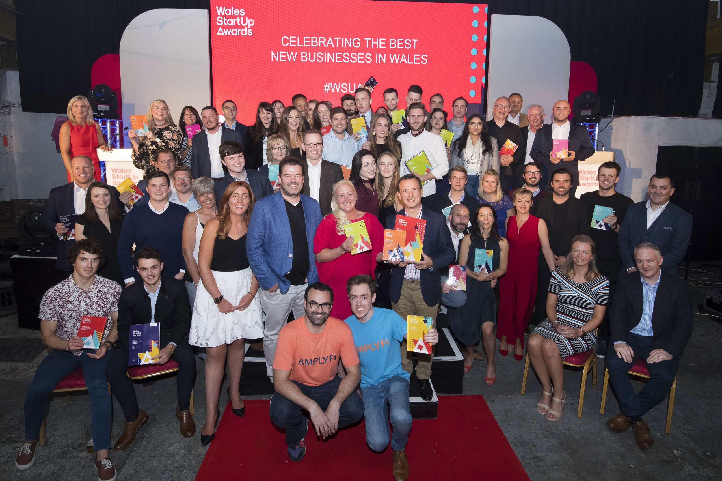 All the winners of the Wales Start-up Awards 2017