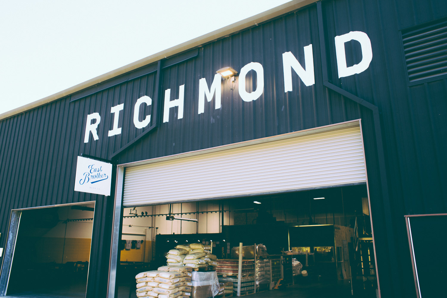 Digging our new home in Richmond