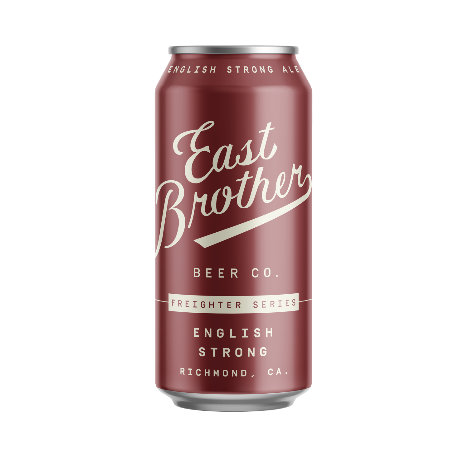ENGLISH STRONG - Available: SpringNotably British. Rich malt flavor. Notes of caramel and dark-fruit. Stick-to-your-bones warmth.7.8% ABV.