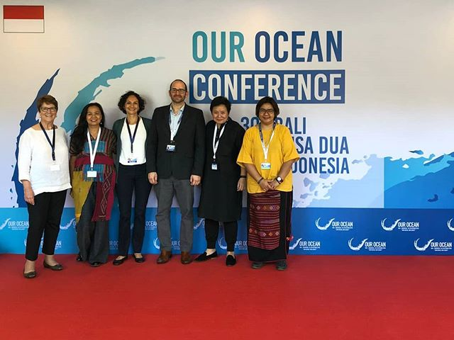 Pelagic Data Systems and @kemitraan_ind at @ourocean2018 - we're thrilled to be here with everyone working towards a safe and sustainable future for our oceans. #ourocean2018