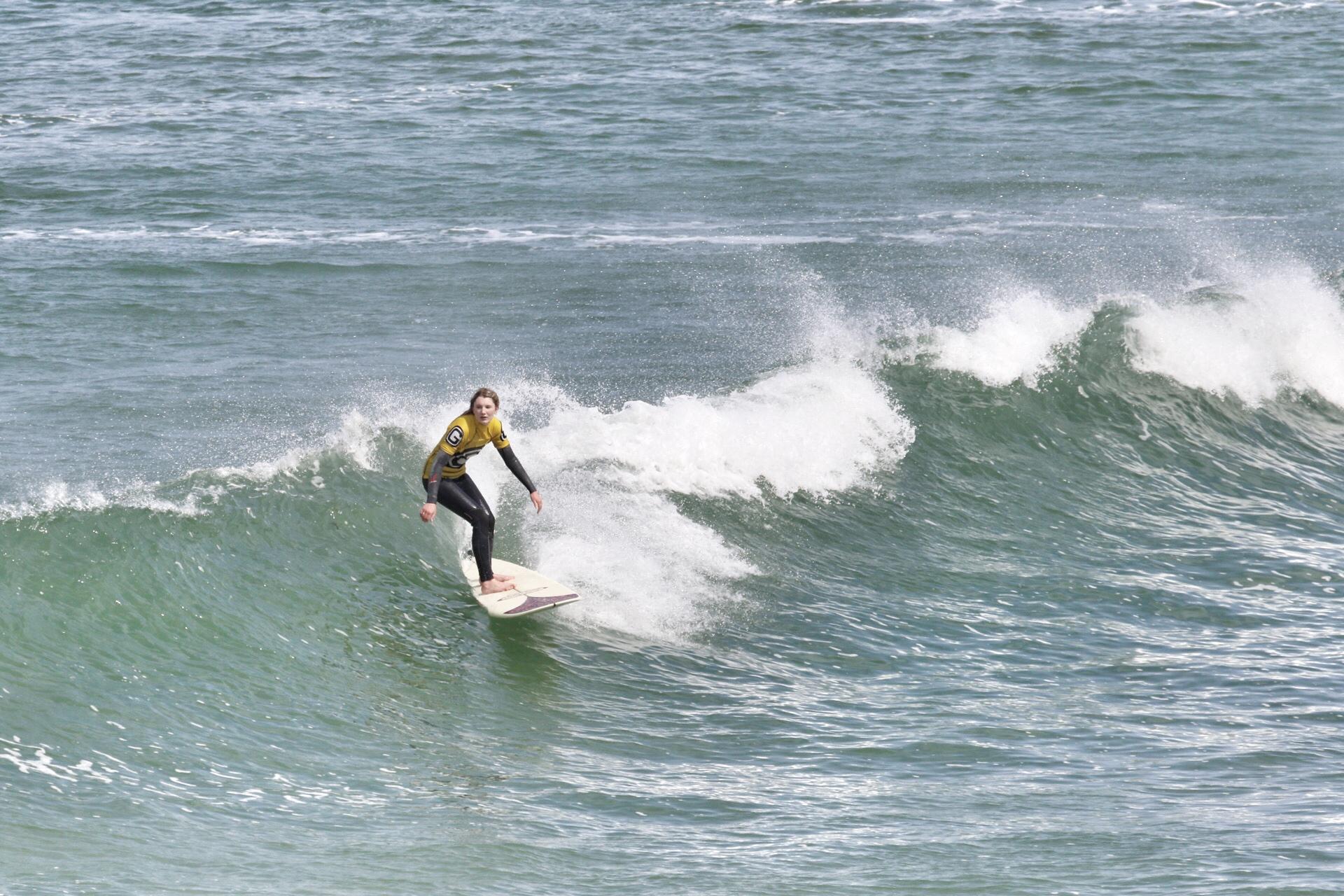 George's Surf School    PROGRESSIVE COACHING