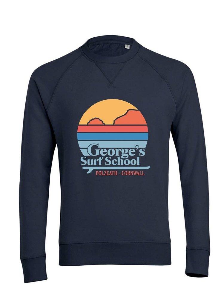 The Retro Sweater £40 - 100% cotton sweater in GSS retro sunset design