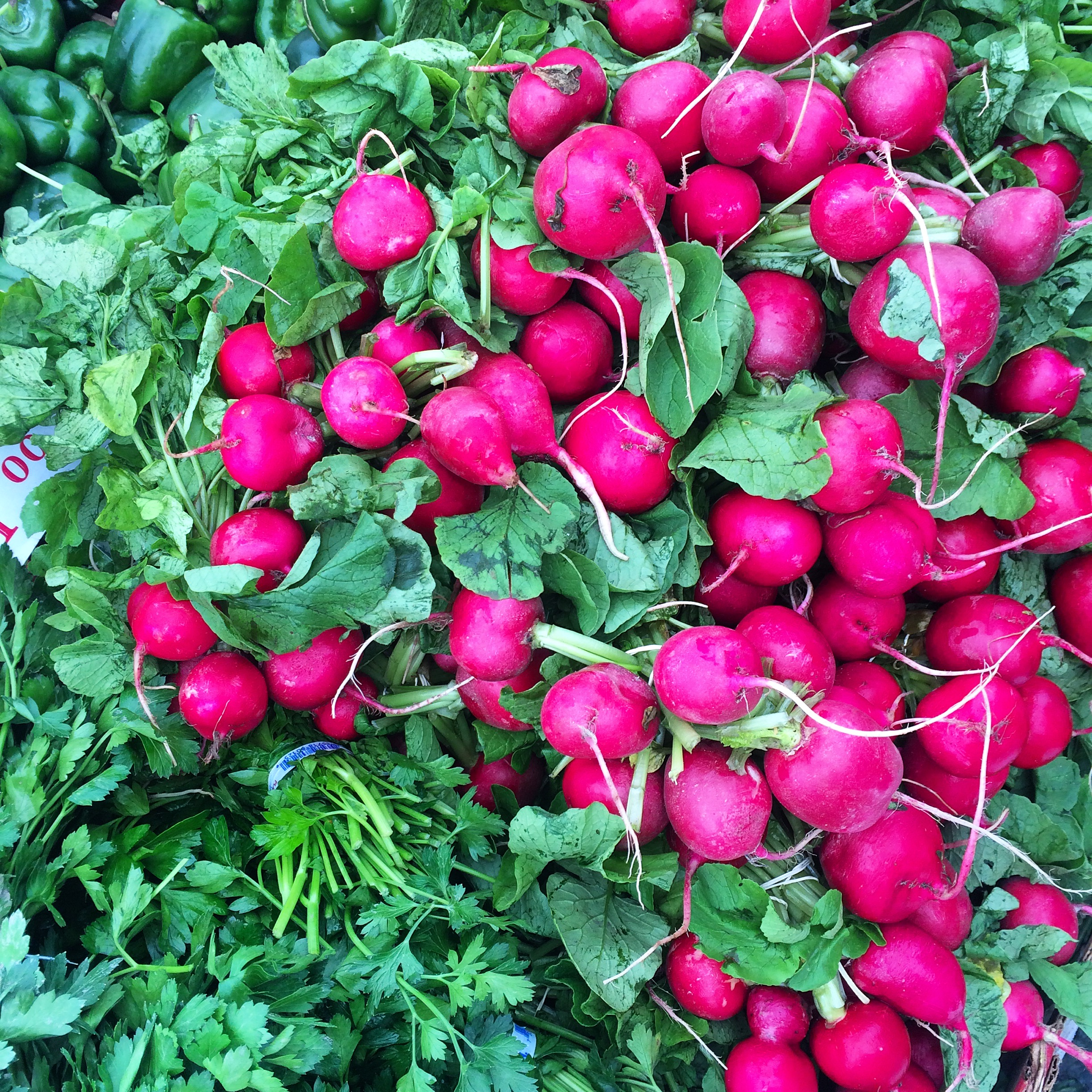 Radish are rich on Vitamin B6, fiber, copper and they are so good in wraps and tacos!