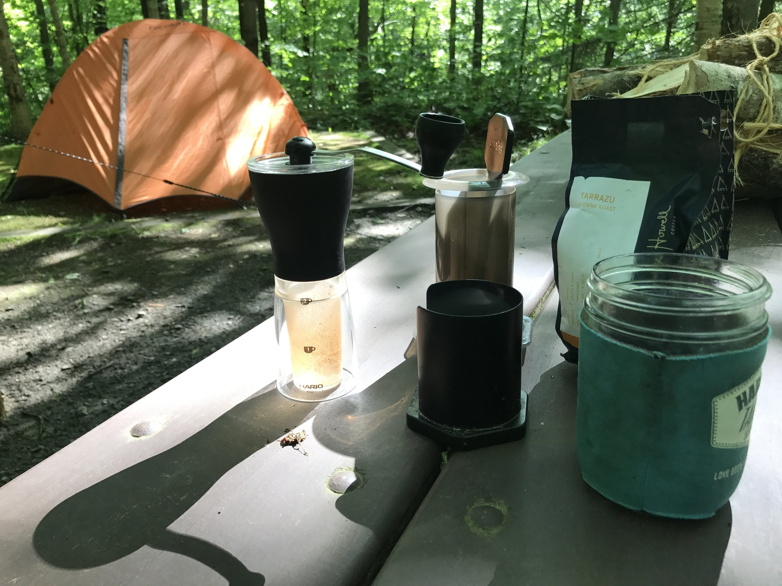 we love our coffee made on an Aero press!