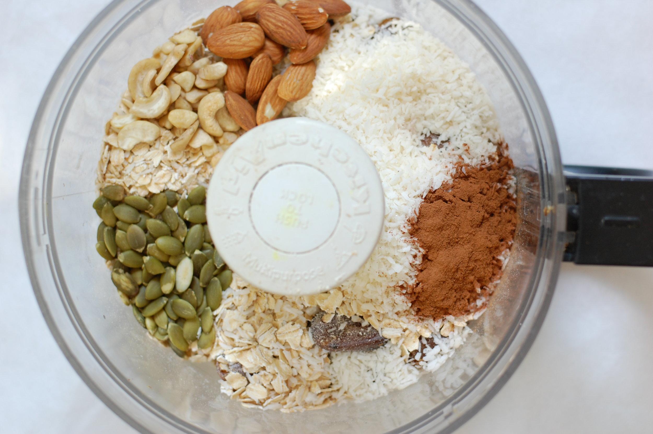 rawnola ingredients