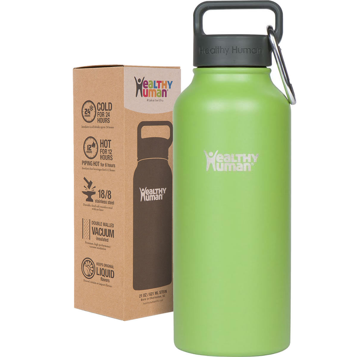Healthy Human Water Bottle - Code ANAFIT10 for 10%