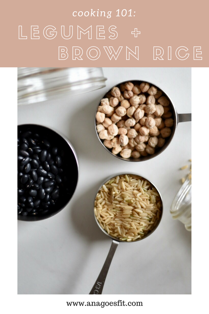 Cooking 101: legumes and rice