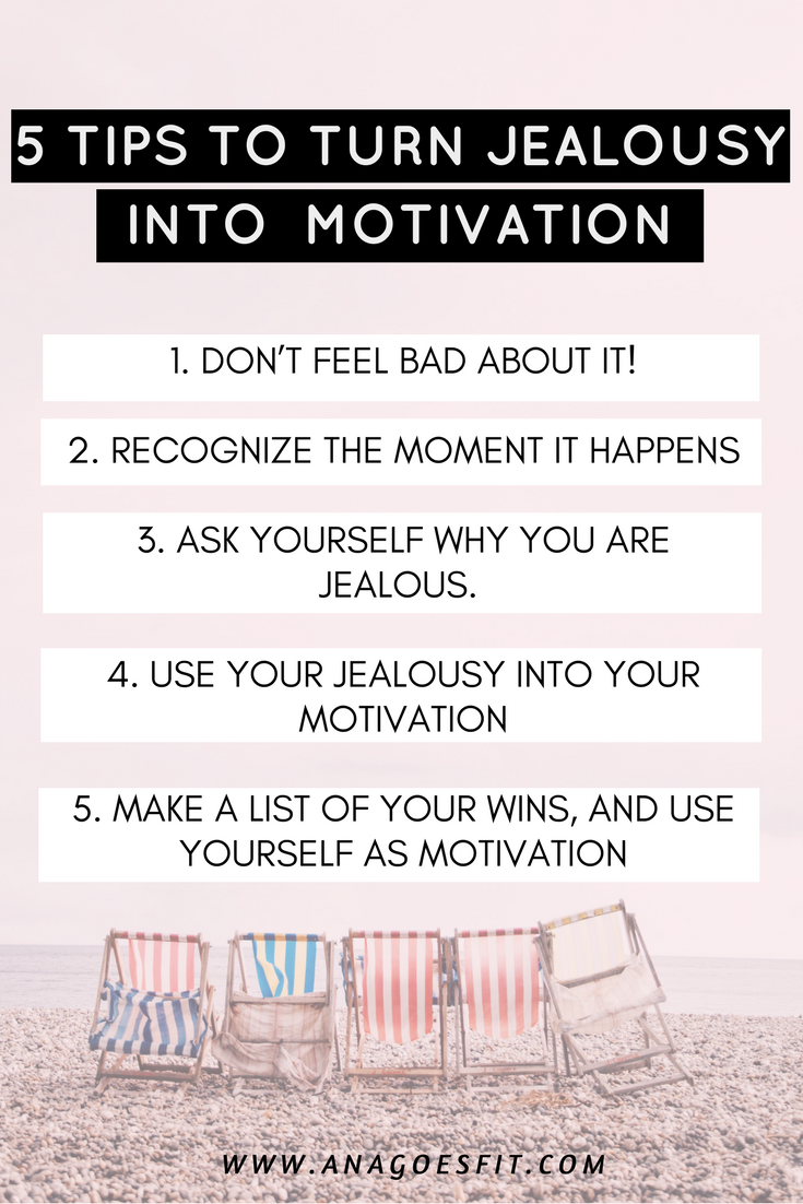 5 TIPS TO TURN JEALOUSY INTO  MOTIVATION