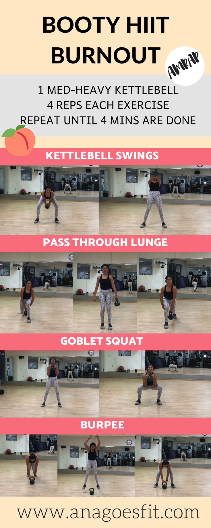 4 MIN Booty burnout legs glutes