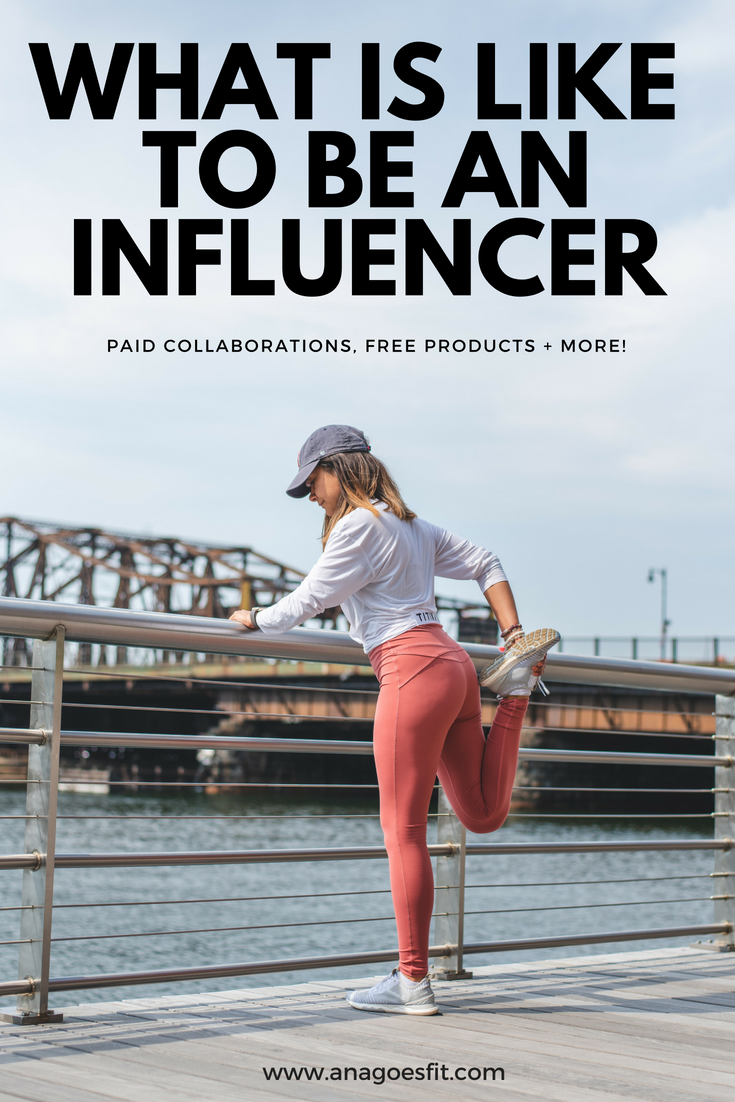 what is like to be an influencer