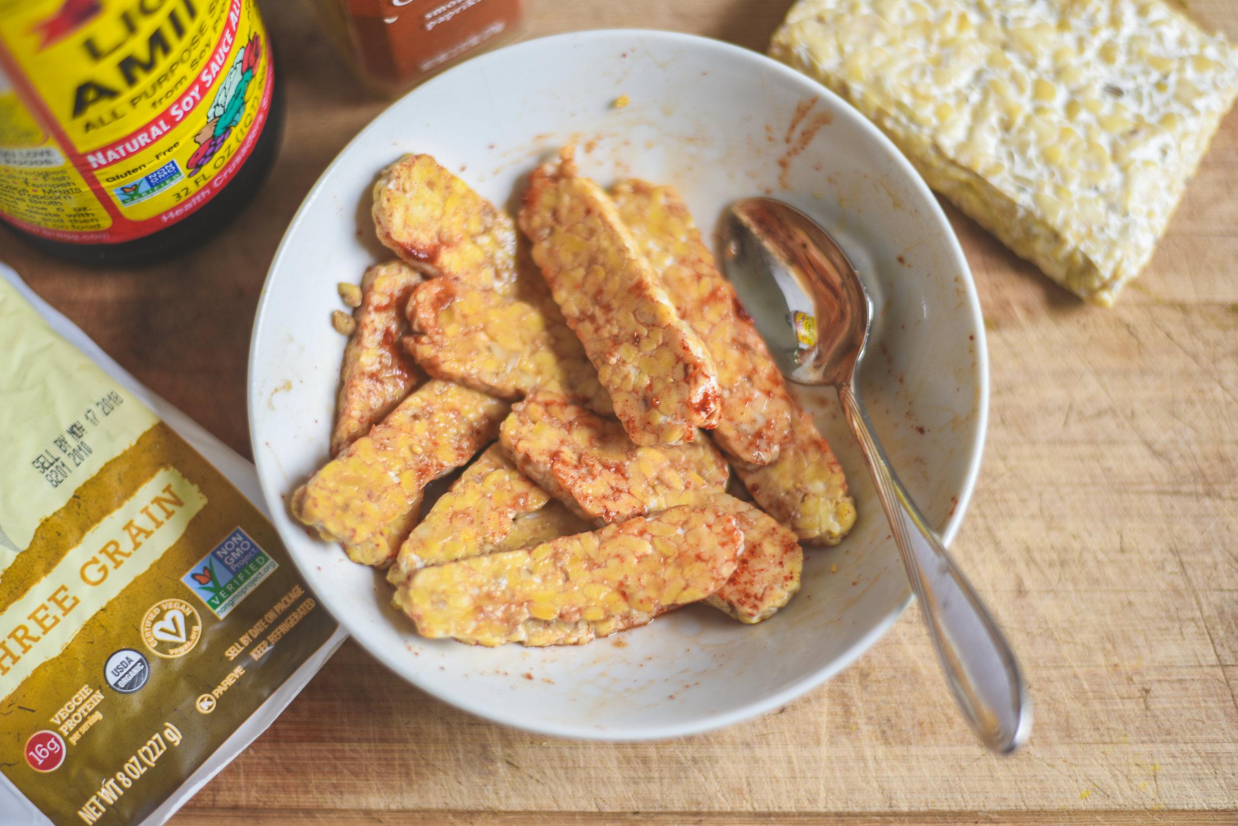como cocinar tempeh ahumado en casa