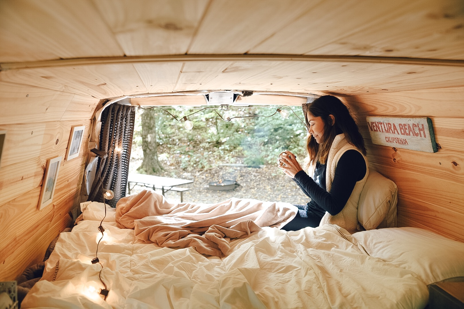 from apartment living to van life