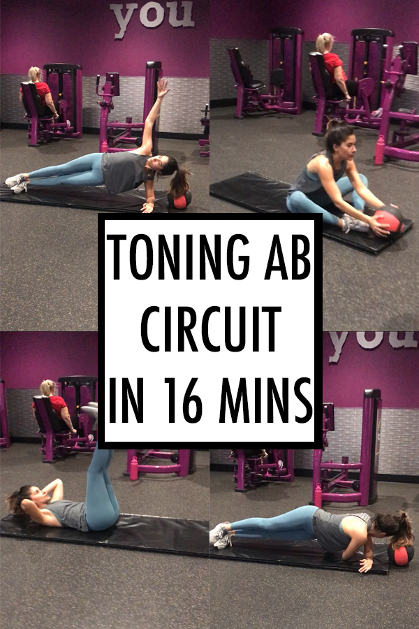 Toning ab circuit under 16 mins