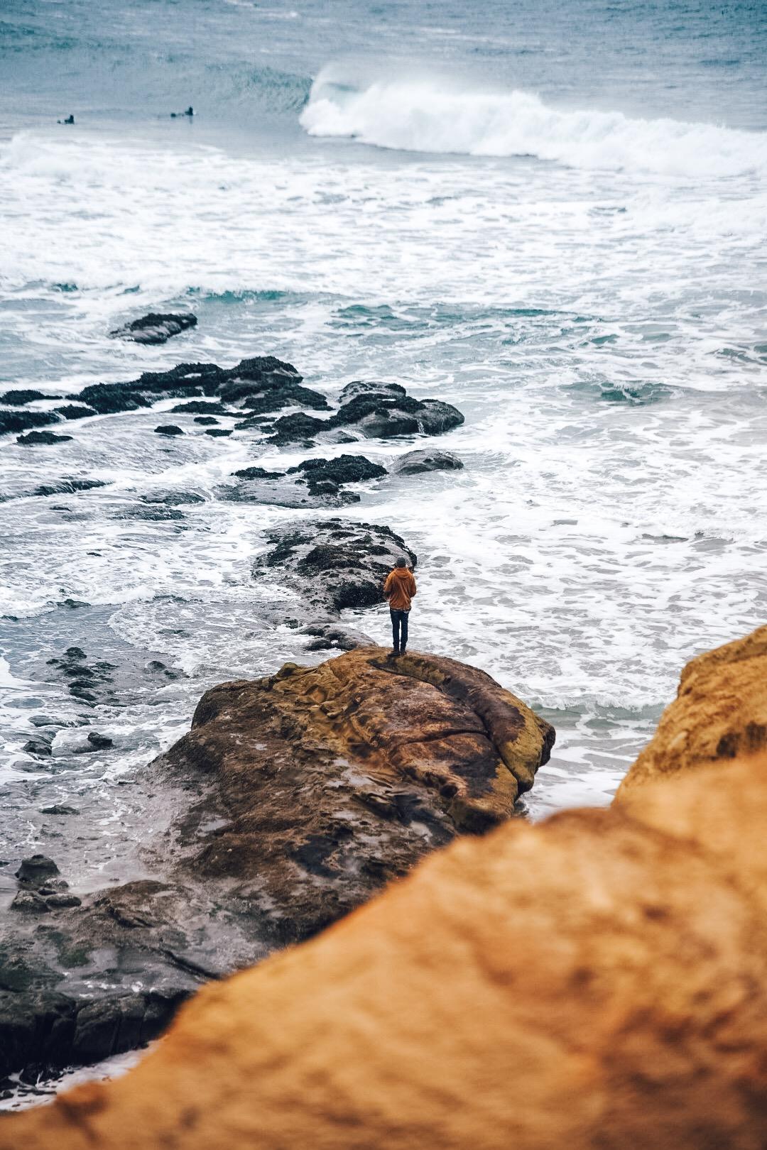 Cape Kiwanda. Photo by  Matthew Davey