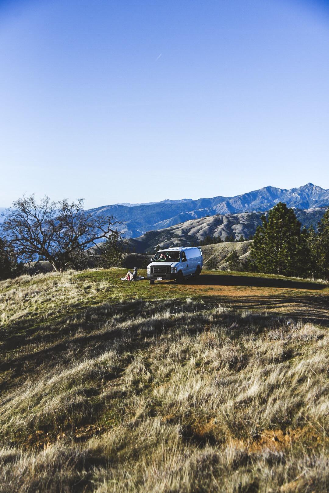 La vista desde nuestro campamento.