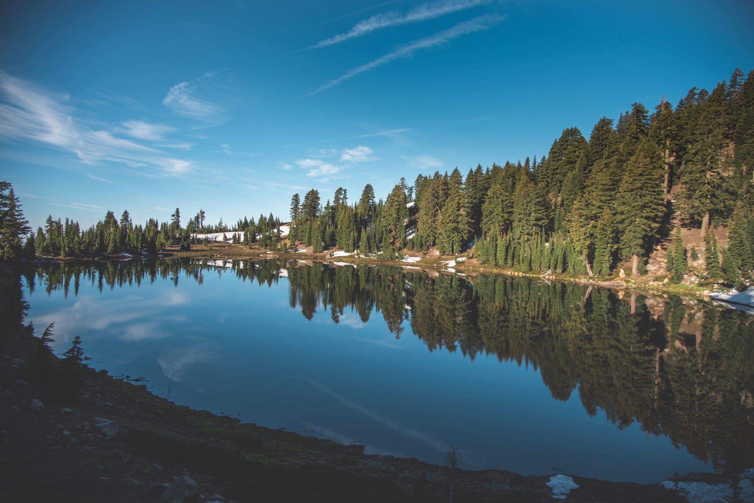 Vista del lago Esmeralda -  foto de Matt Davey.
