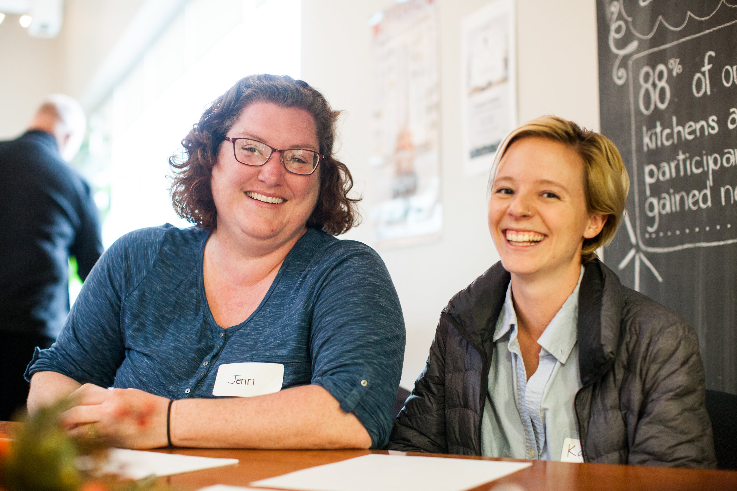(left):  Jenn Prager,  Family Support Worker,  jprager@dartmouthfamilycentre.ca     (right):  Katherine Carey ,   Volunteer & Communications Coordinator,  kcarey@dartmouthfamilycentre.ca