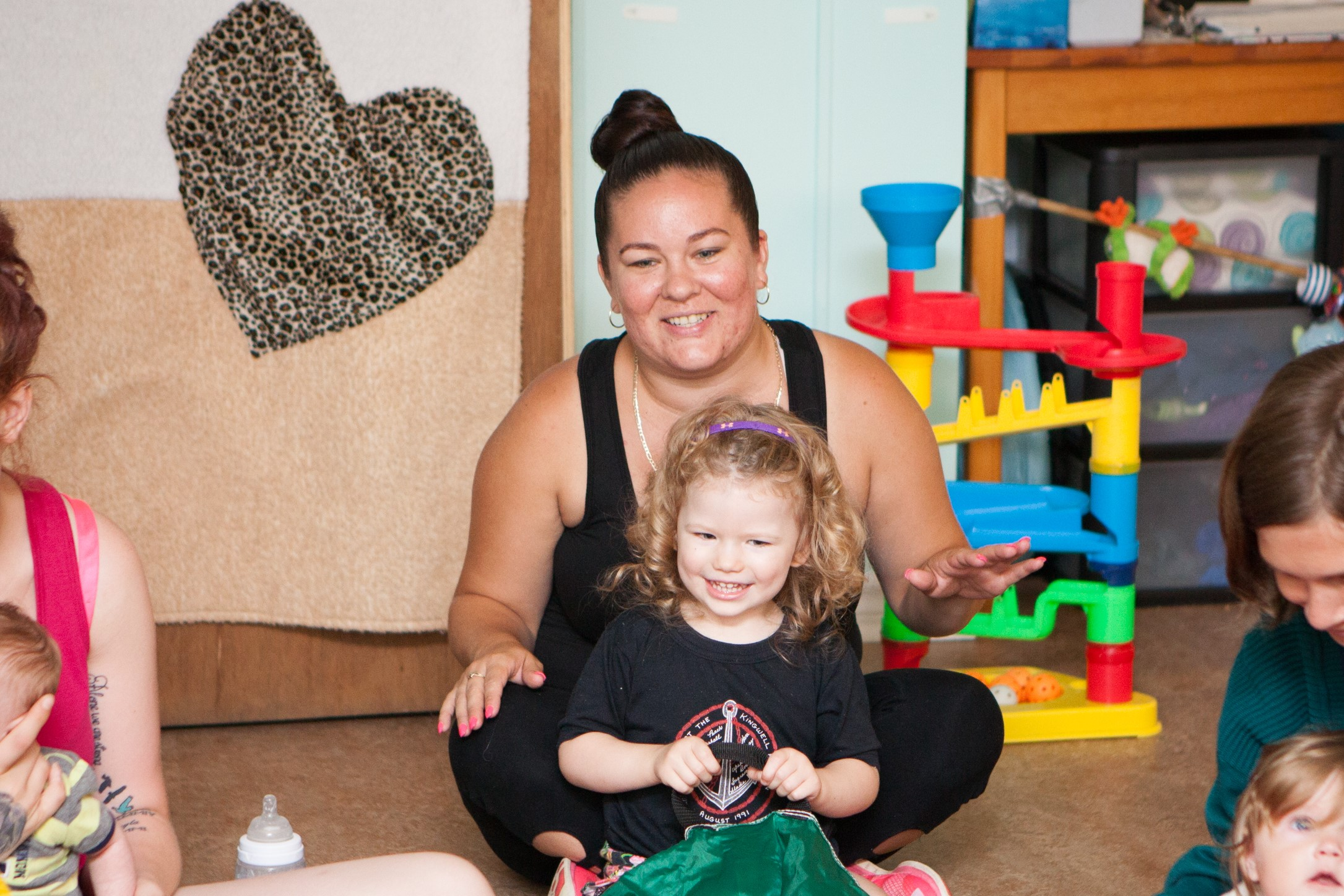 Melissa Muench,  Family Support Worker/Early Childhood Educator,  mmuench@dartmouthfamilycentre.ca