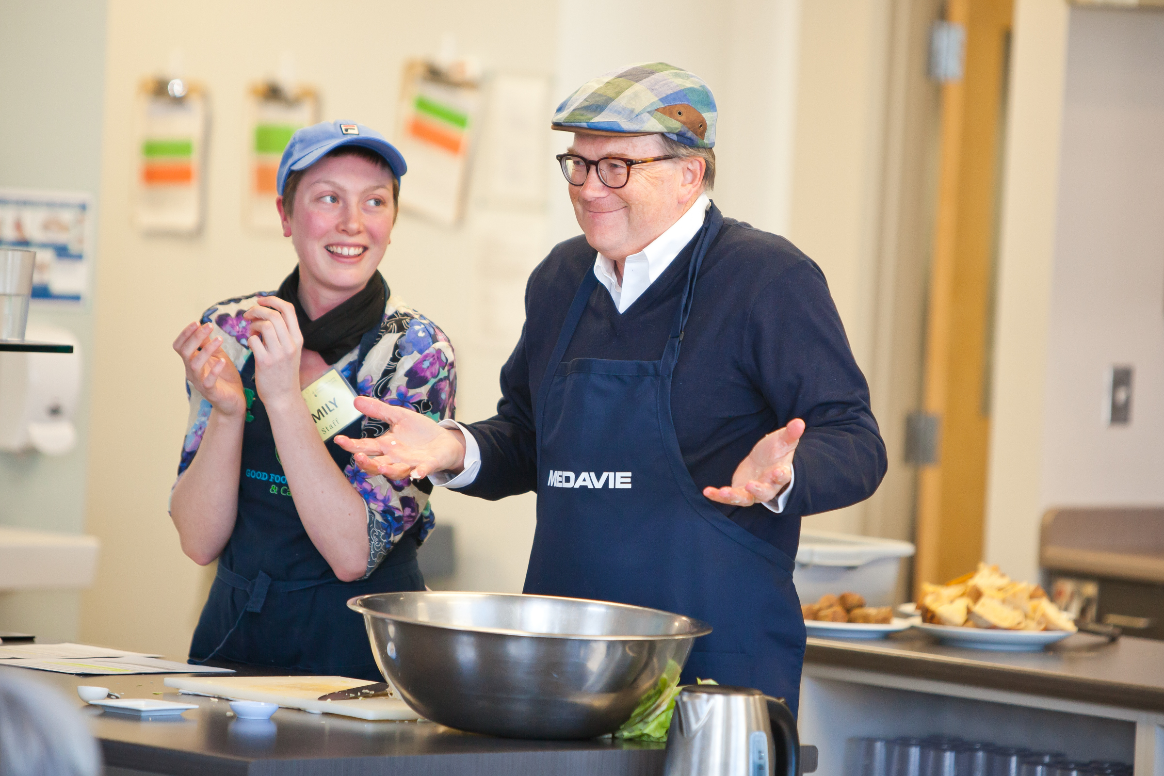 Last week supporters from Medavie came and helped with the Food Demo. Medavie has generously supported the Dartmouth Family Centre/Dartmouth North Community Food Centre since 2016 and just announced a further $120,000 in funding for Dartmouth Family Centre/Dartmouth North Community Food Centre over the next three years.