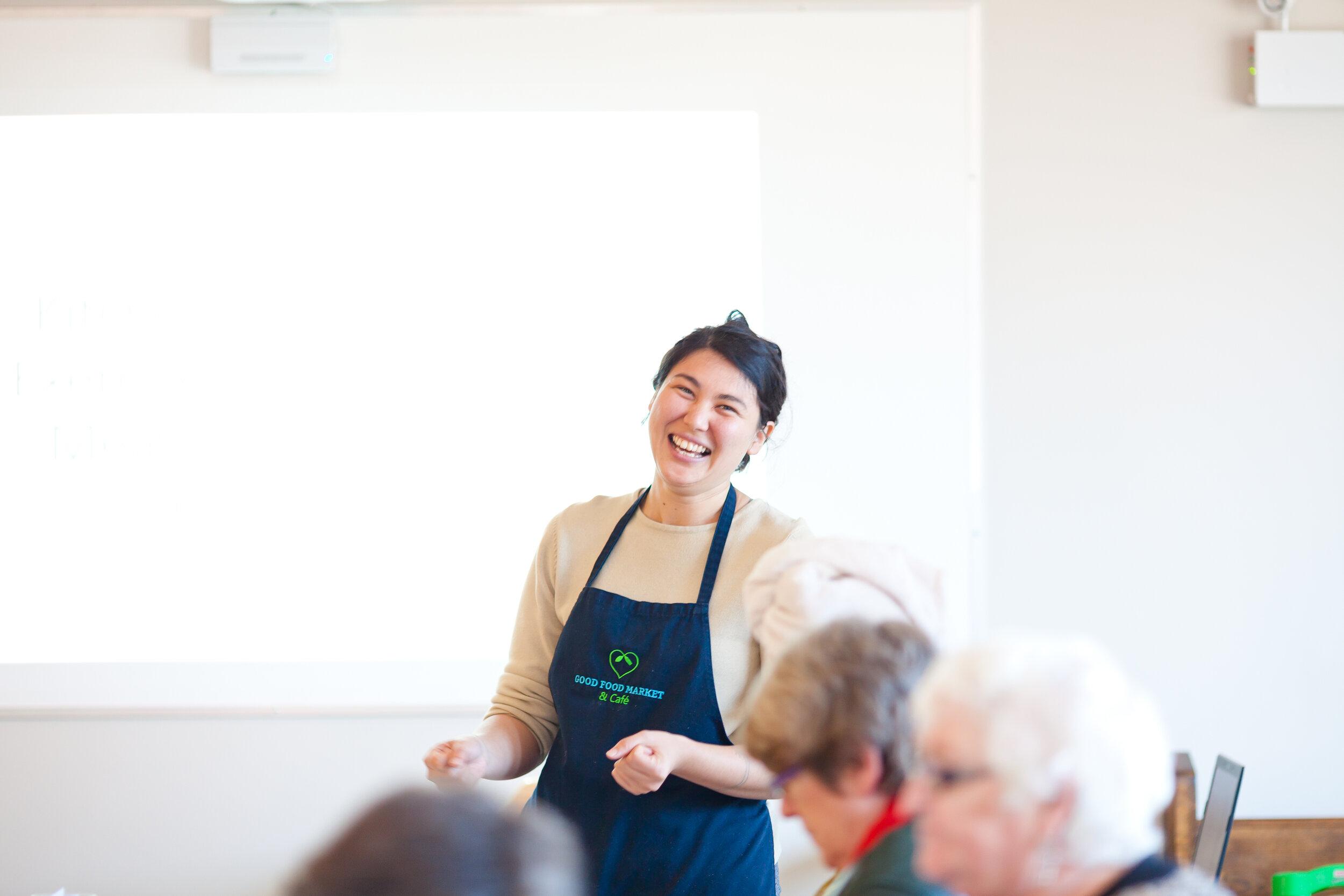 Kathleen Chan , Foodfit Coordinator