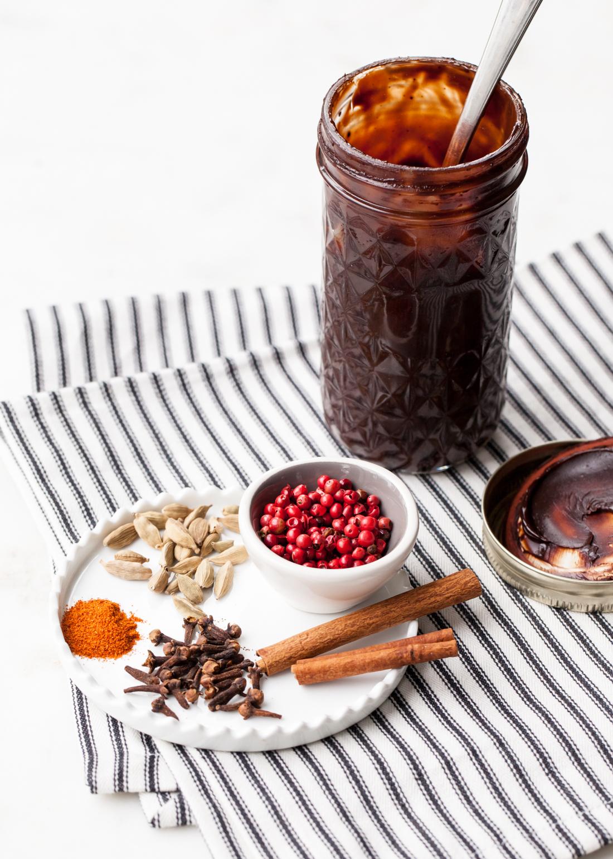 DIY Mocha Spice Hot Fudge Sauce