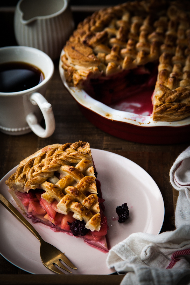 Apple Blackberry Pie Recipe