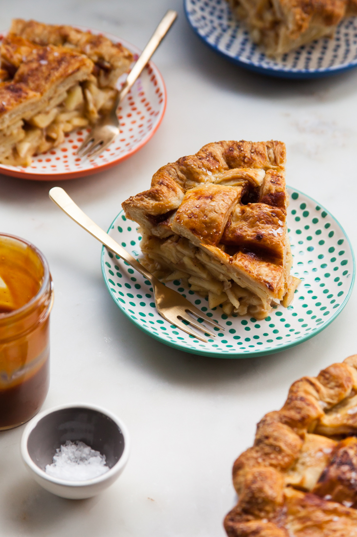 Salted Caramel Apple Pie