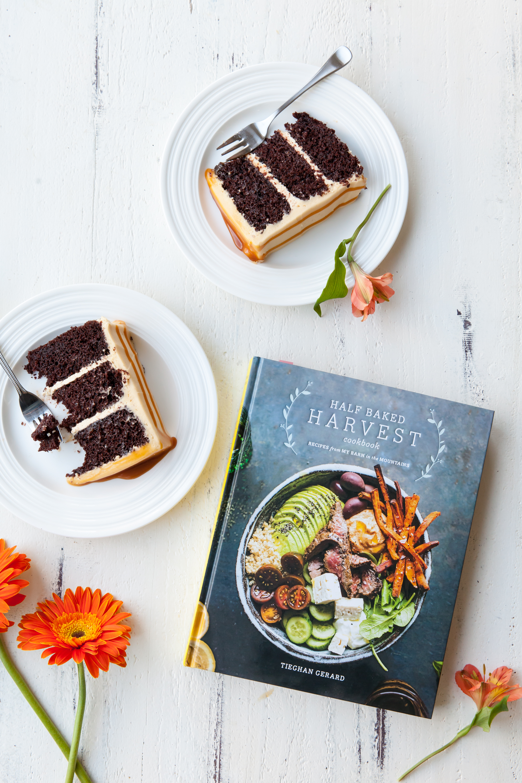 Chocolate Cake with Caramel Buttercream