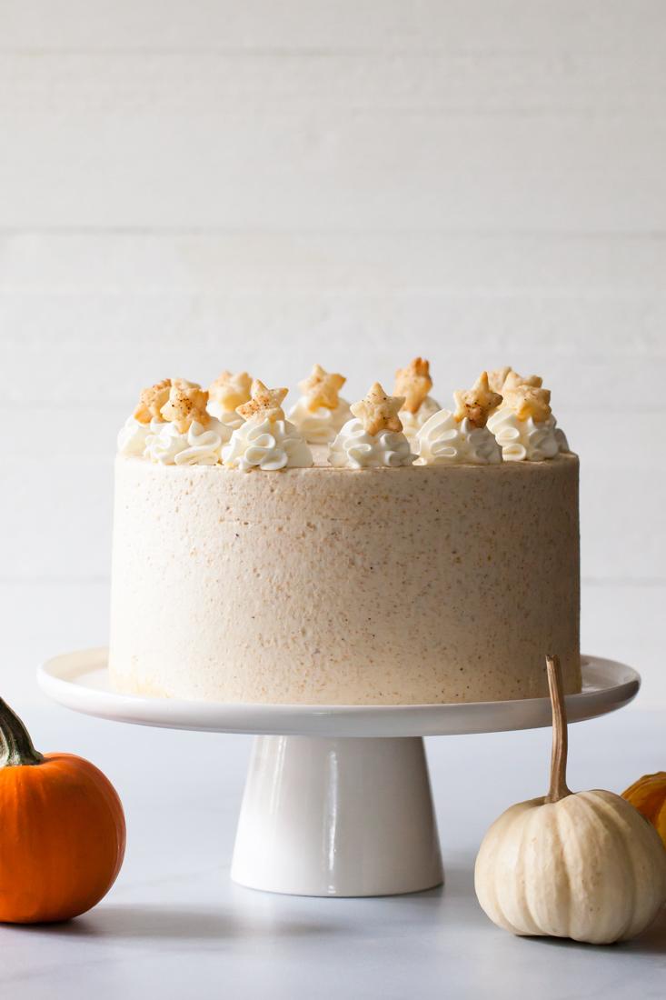 Pumpkin Pie Layer Cake Recipe
