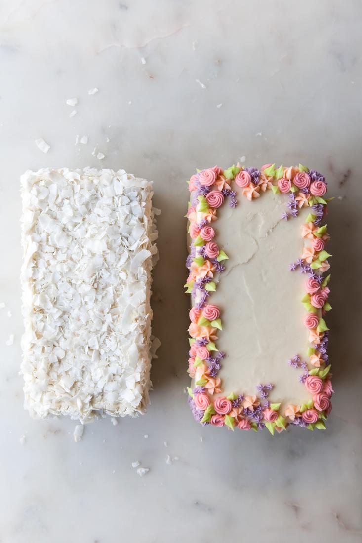Carrot Cake Two Ways
