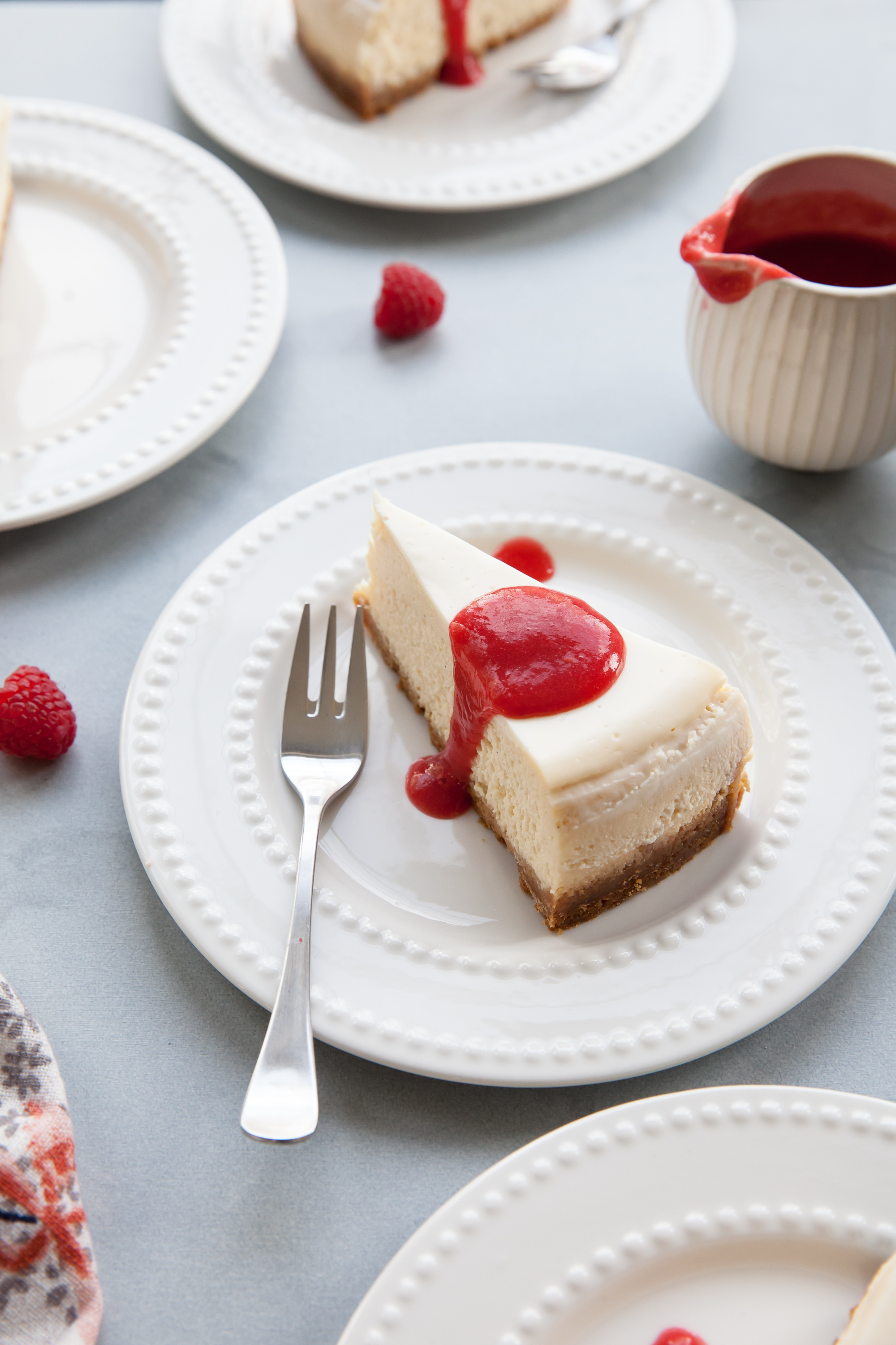 The Best Vanilla Cheesecake Recipe