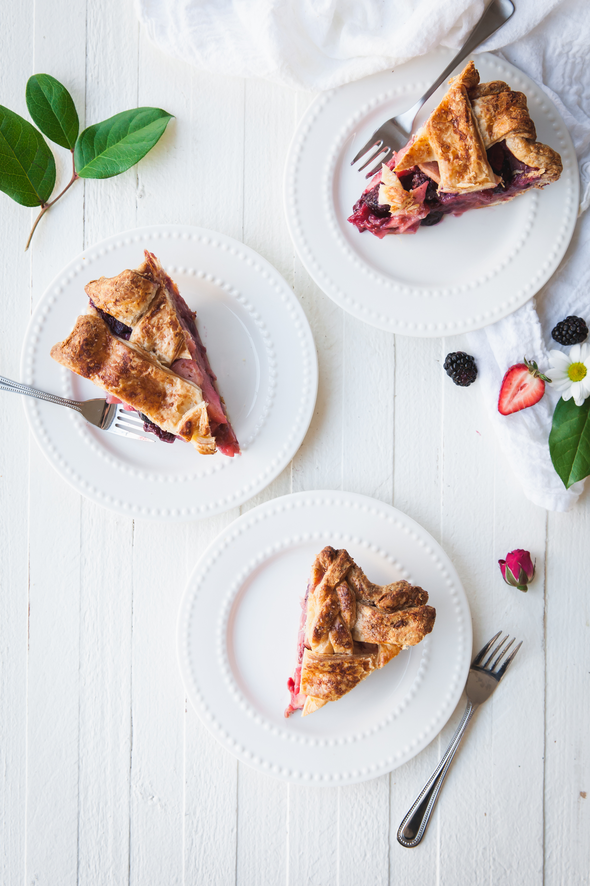 Mixed Berry Apple Pie Recipe
