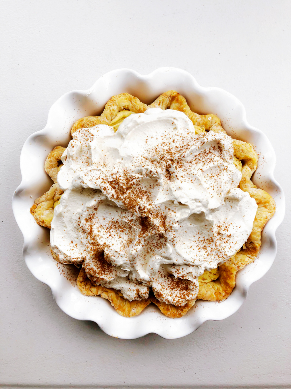 Easy Pumpkin Chiffon Pie