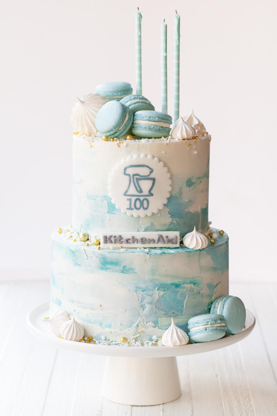 Kitchen Aid 100th Anniversary Cake