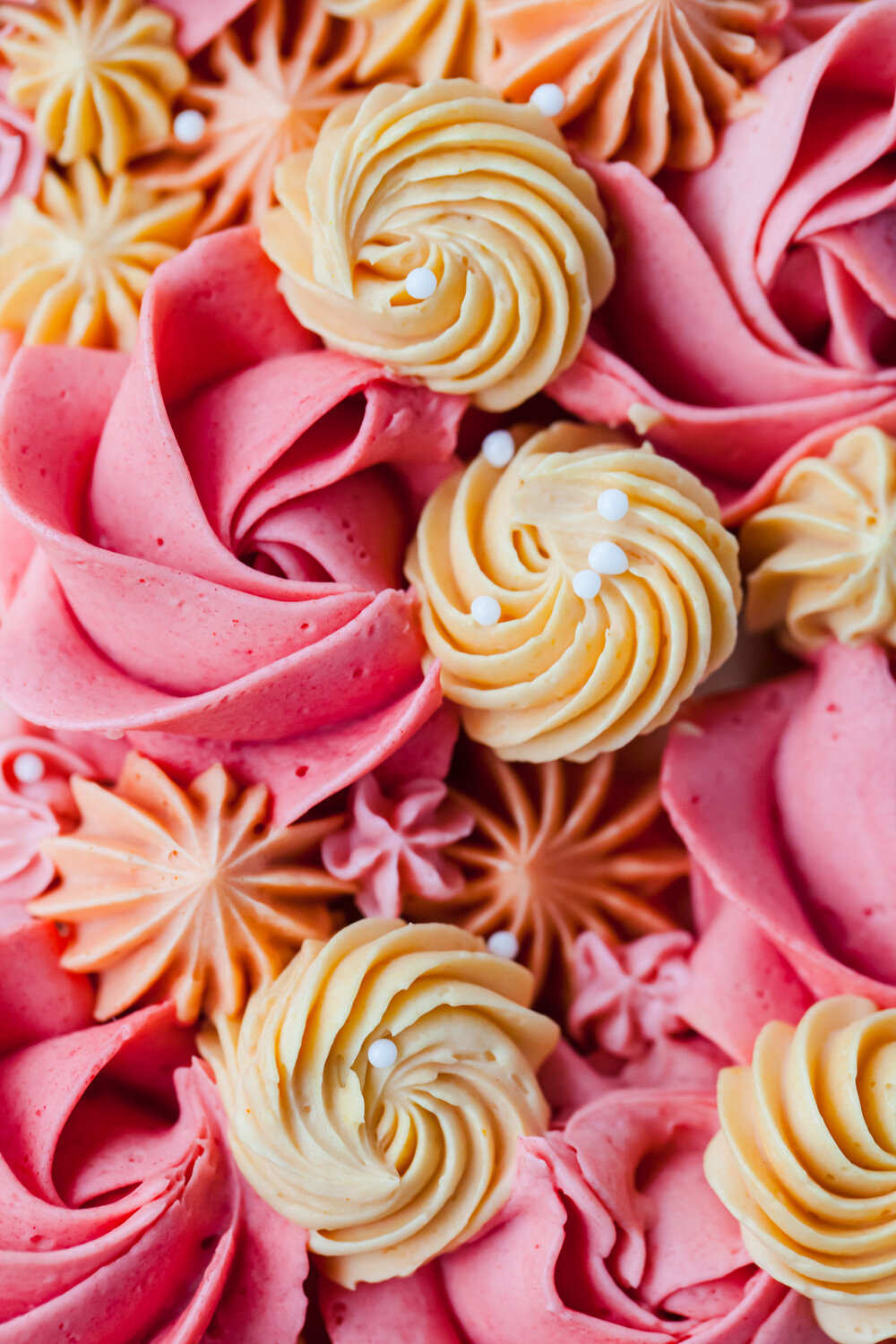 How to Make a Buttercream flower cake