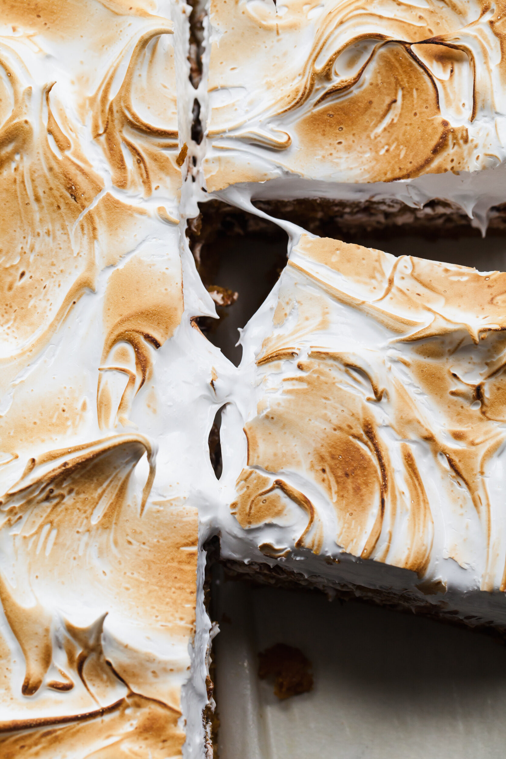 Pumpkin S'mores Sheet Cake
