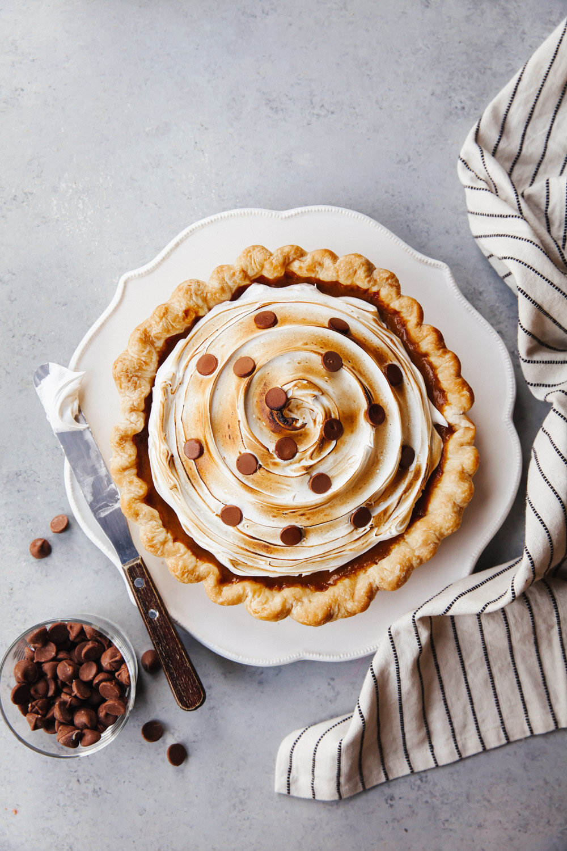 S'mores Pumpkin Pie Recipe