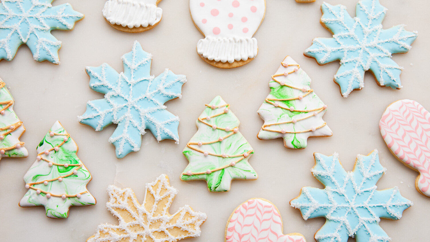 Royal Icing Decorated Christmas Cookies - cookie ideas