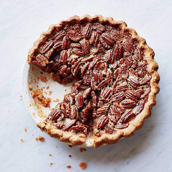 Bourbon Pecan Pie  - via Good Housekeeping