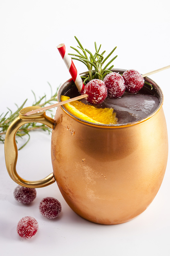 Holiday Mule  - via Home Sweet Jones