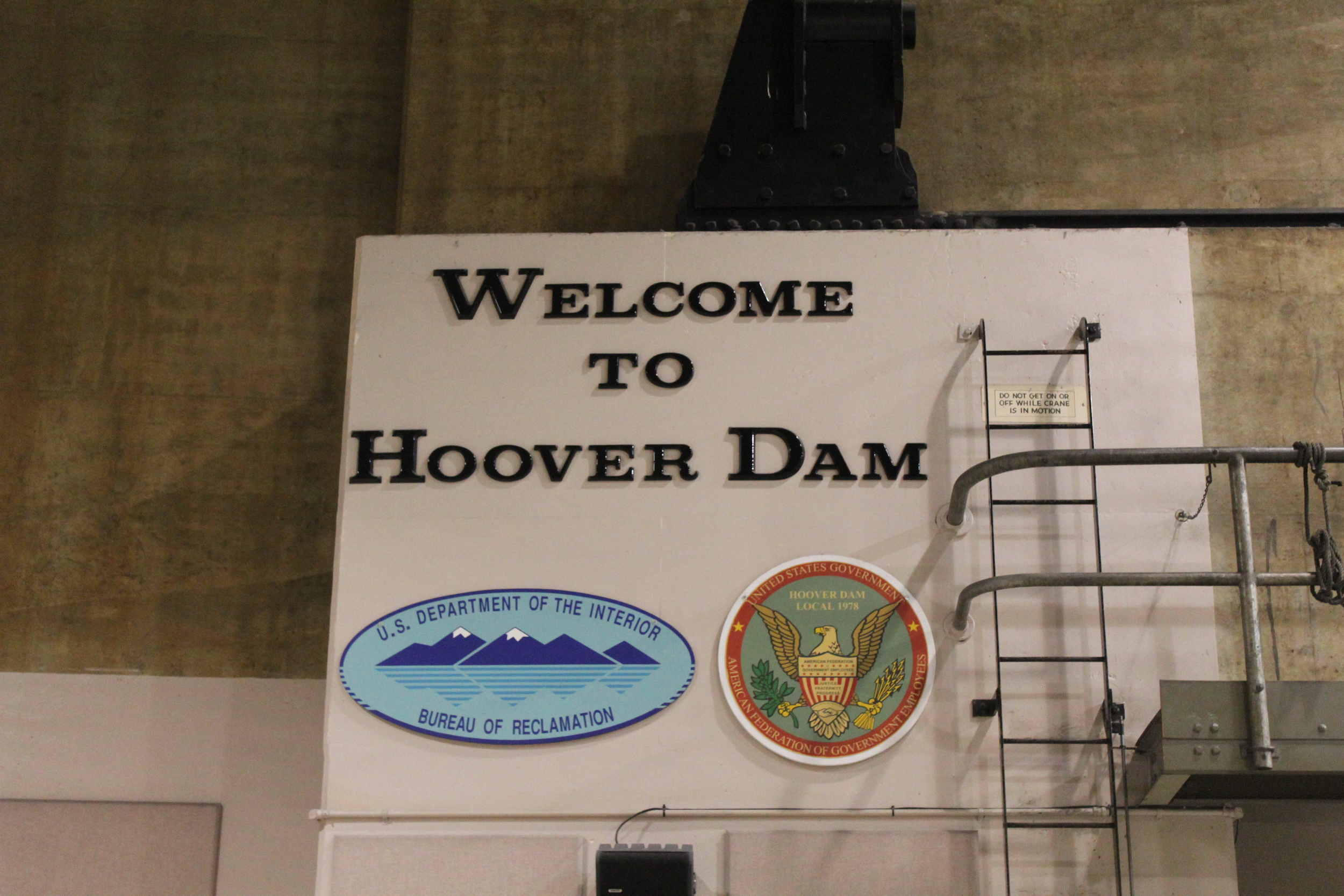 Hoover Dam Power Plant Tour
