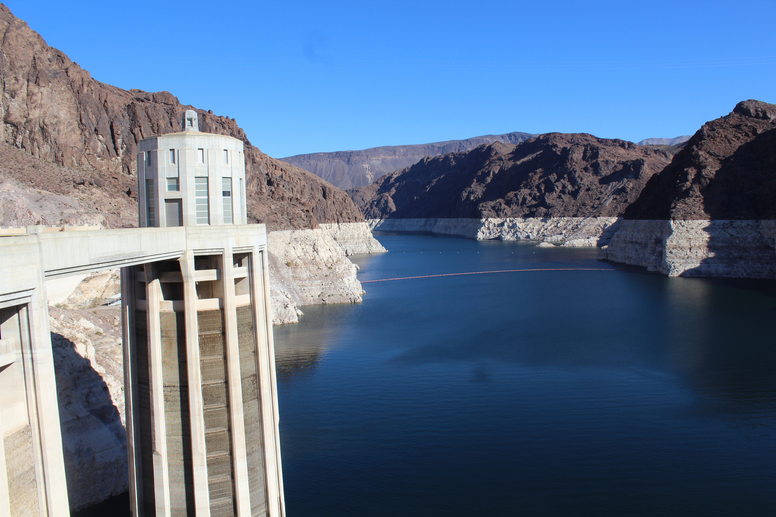 Hoover Dam - Lake Mead Side