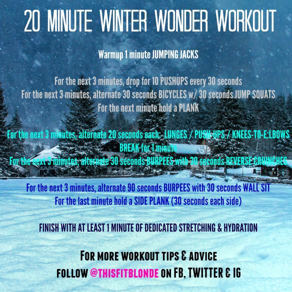 Winter Wonder Workout